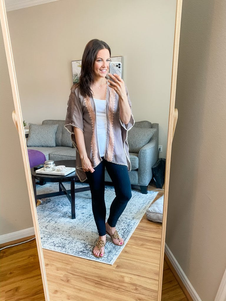 10 Outfit Ideas with Black Leggings - Lady in VioletLady in Violet