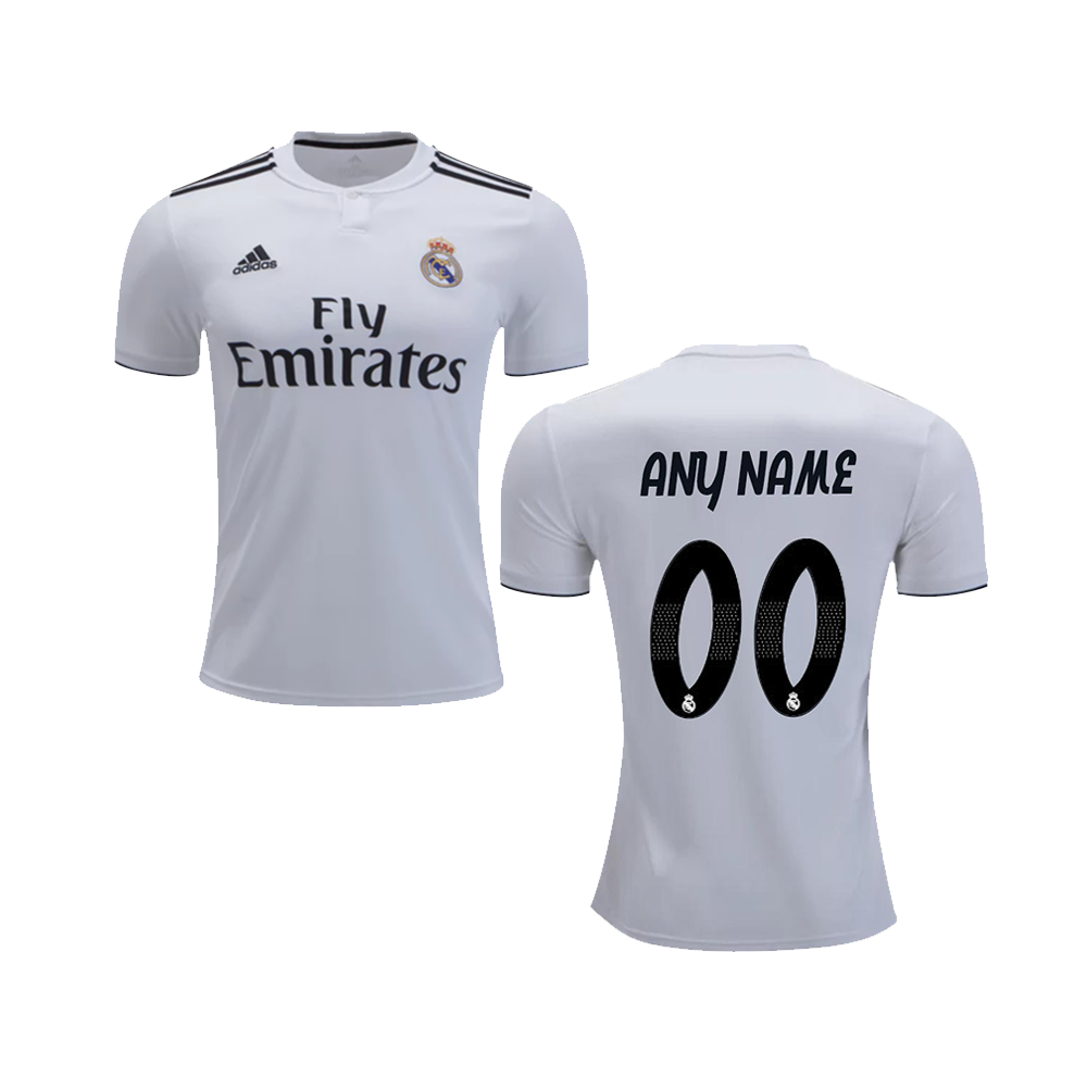 Real Madrid Jersey Name Font