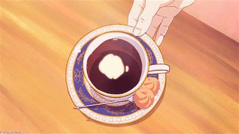 anime cup gifs find share  giphy