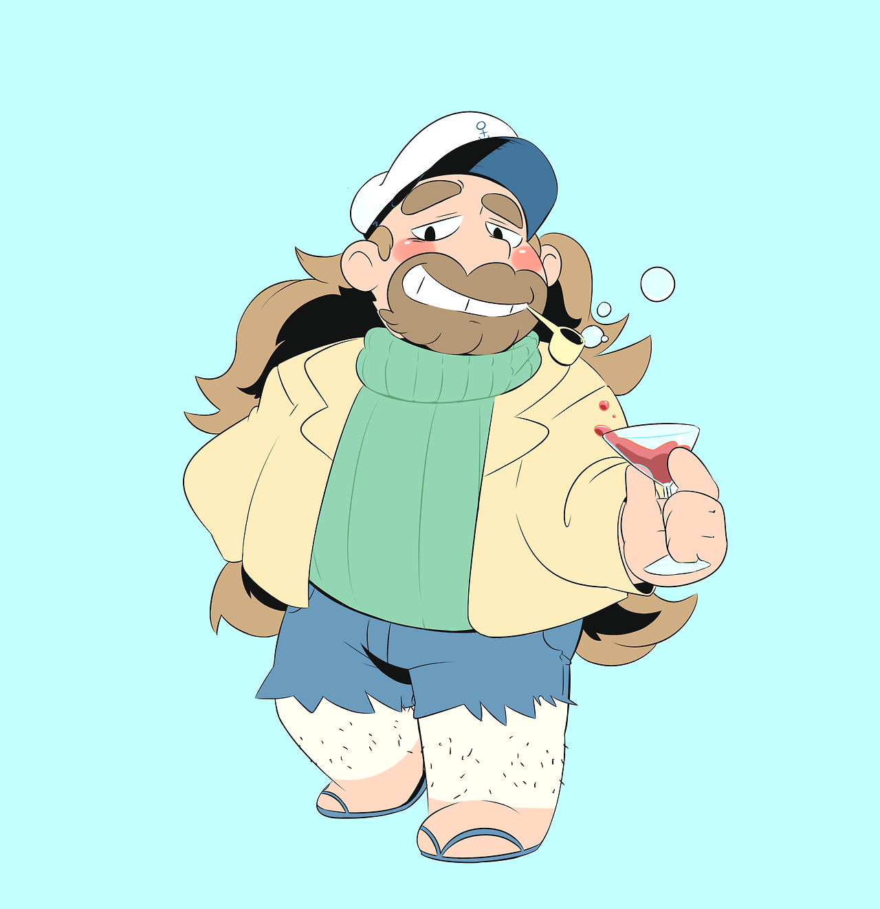 cap'n greg is still cute