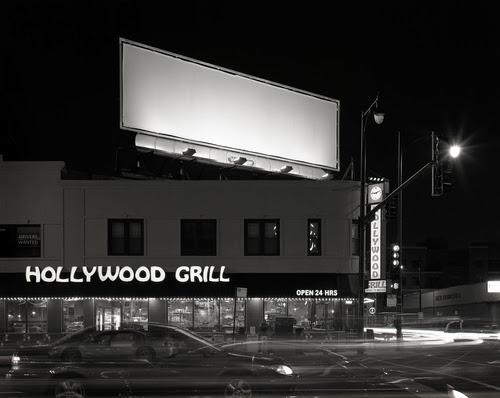 Night Blank Billboards — Adam Frint Photography