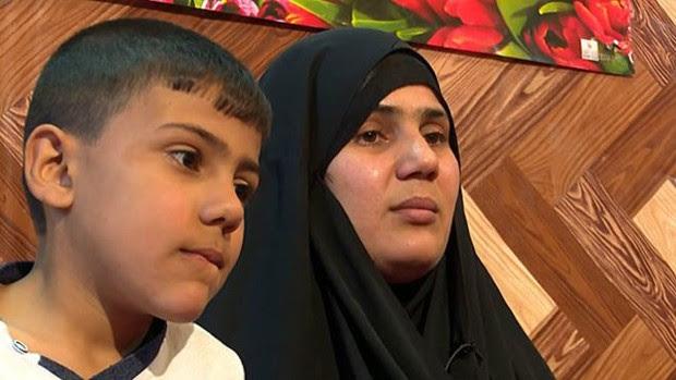 Om Hussein quis vender seu rim e o de seu filho  (Foto: BBC)