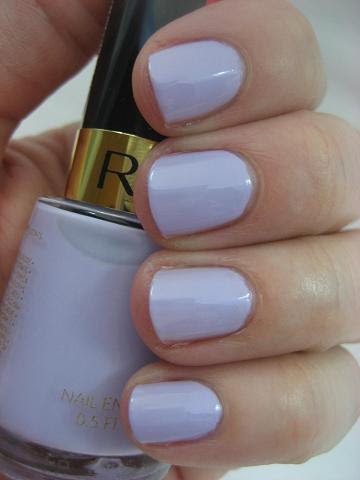 Nail polish with Revlon bottle