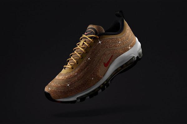 new style 56816 05014 Nike Officially Announces Swarovski® x Air Max 97 LX