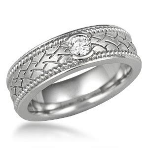 ropes  tire wedding band