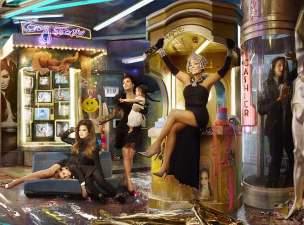 The Kardashian Christmas card