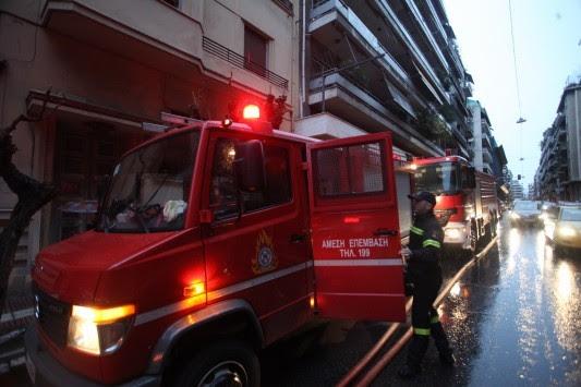 Ηράκλειο: Τροχαίο με όχημα της Πυροσβεστικής – Ανατράπηκε σε στροφή
