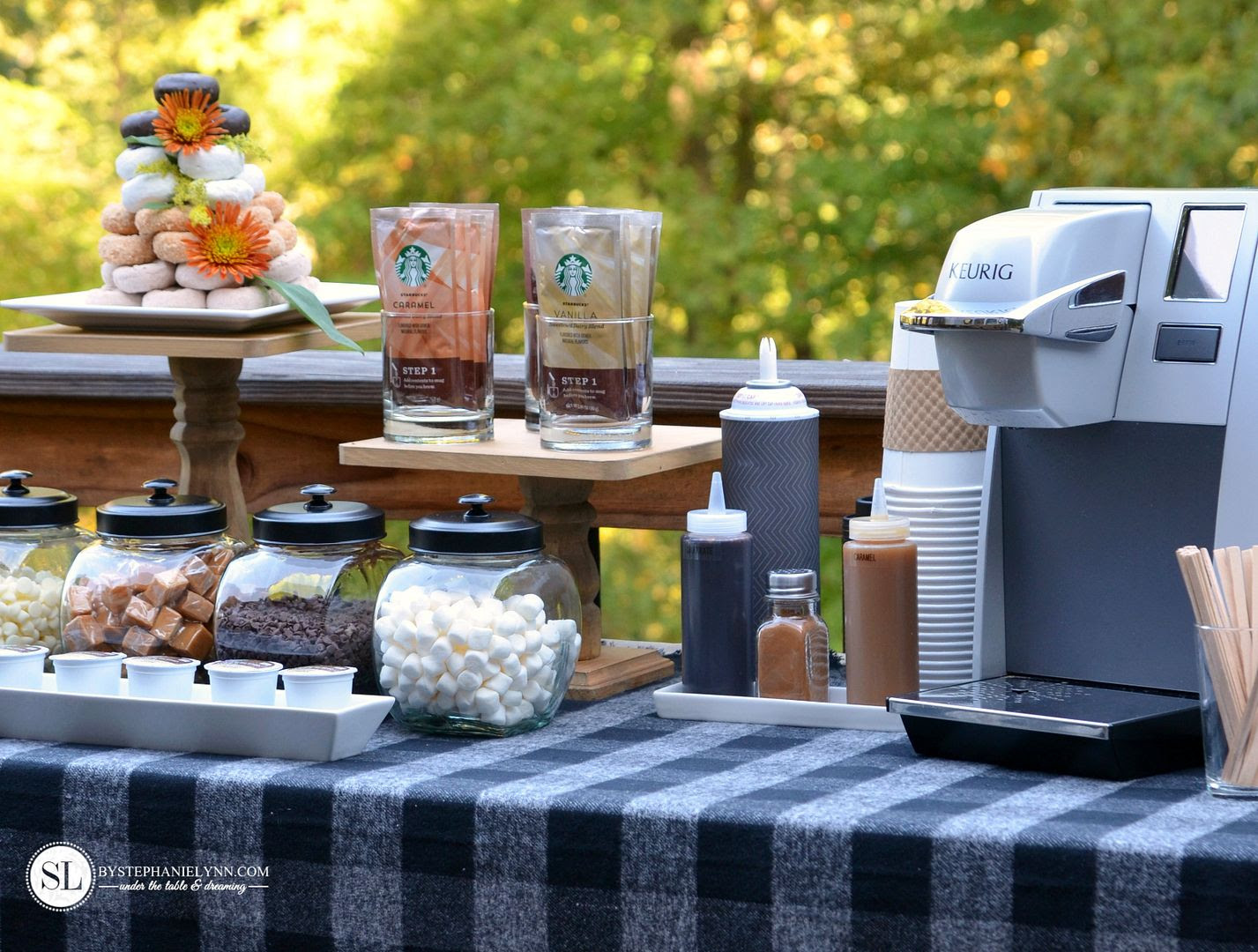 Fall Coffee Bar Coffee Crafts Crafting Party Bystephanielynn