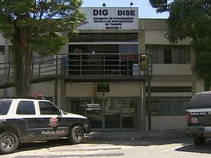 Caso foi investigado pela DIG de Taubaté  (Foto: Reprodução/ TV Vanguarda)