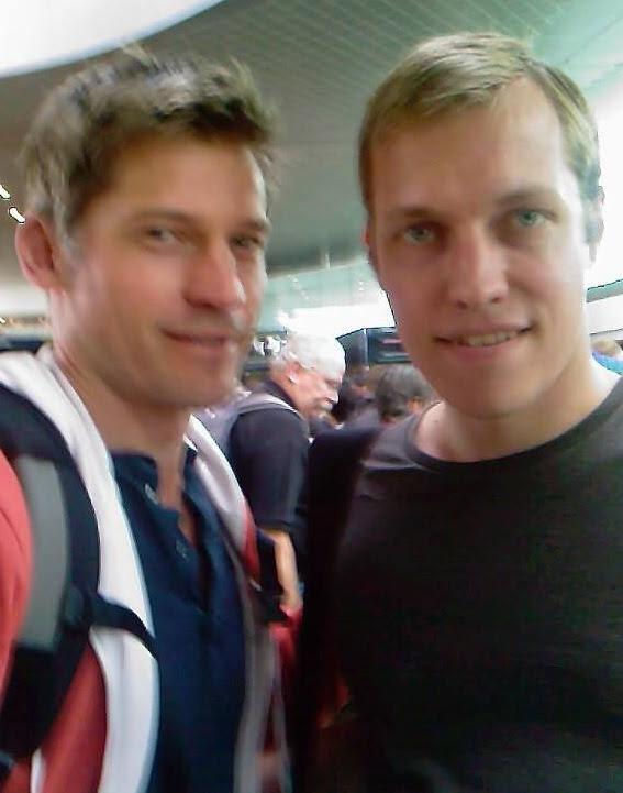 Nikolaj Coster-Waldau and I
