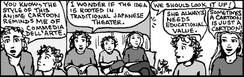 Home Spun comic strip #818