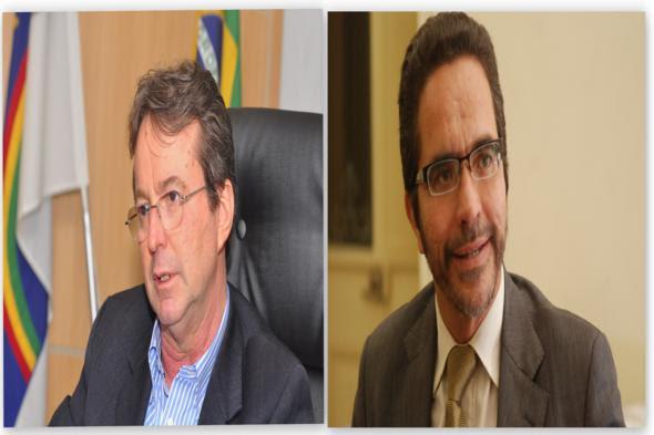 João da Costa e Maurício Rands - Crédito: Nando Chiappetta e Hélder Tavares / DP / D.A Press