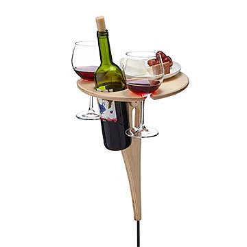 Outdoor Wine Table Picnic Table Wine Accessories Uncommongoods