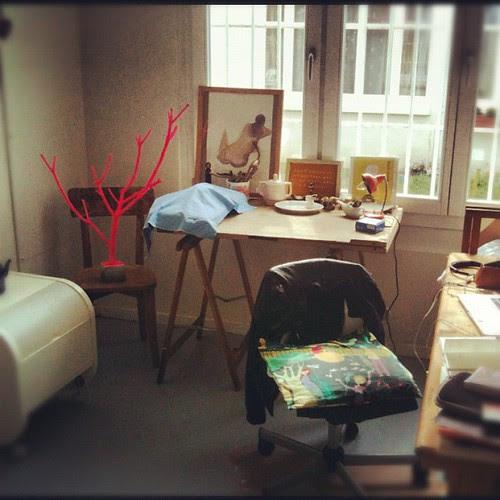 The atelier full of sun! by la casa a pois