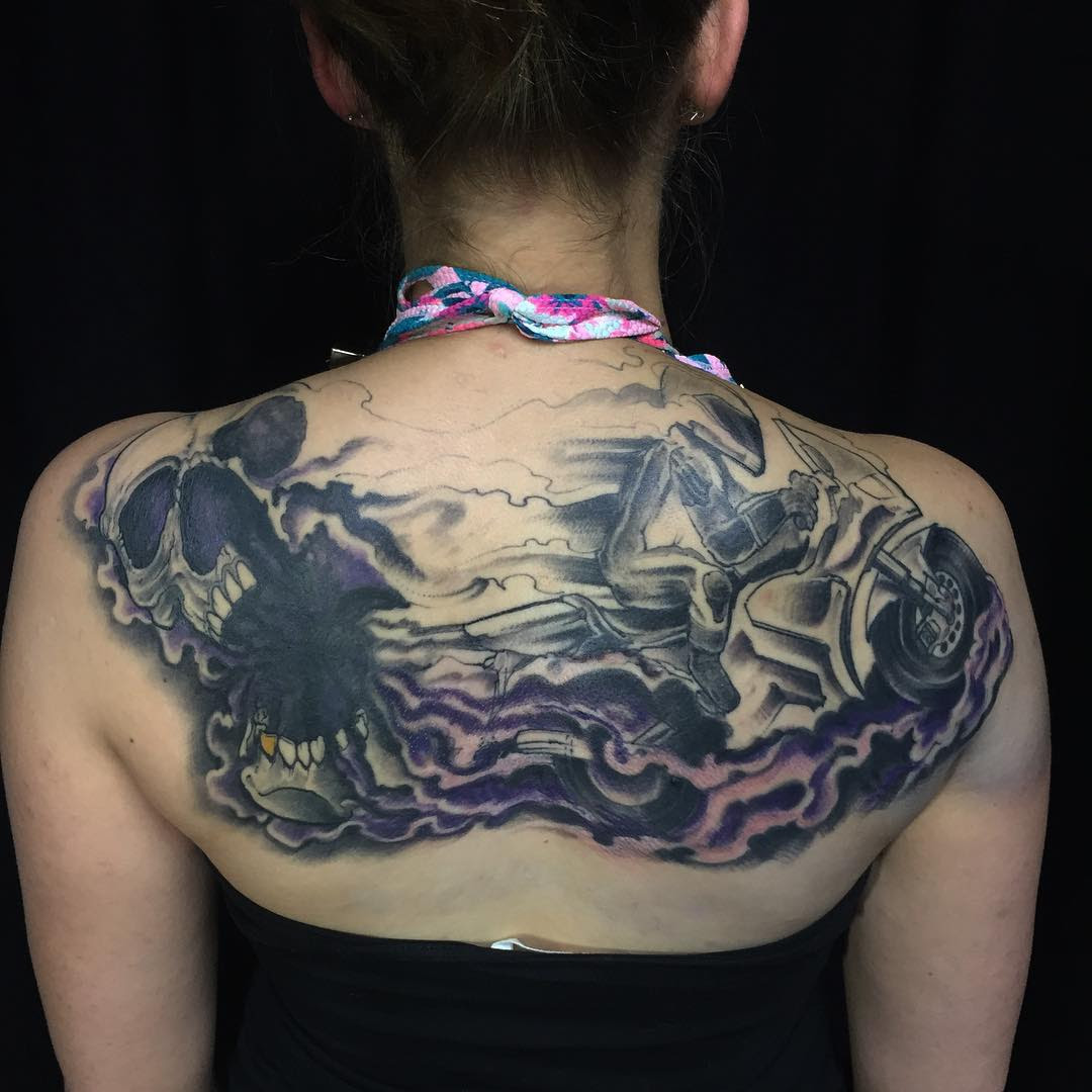 40 Versitle Upper Back Tattoos