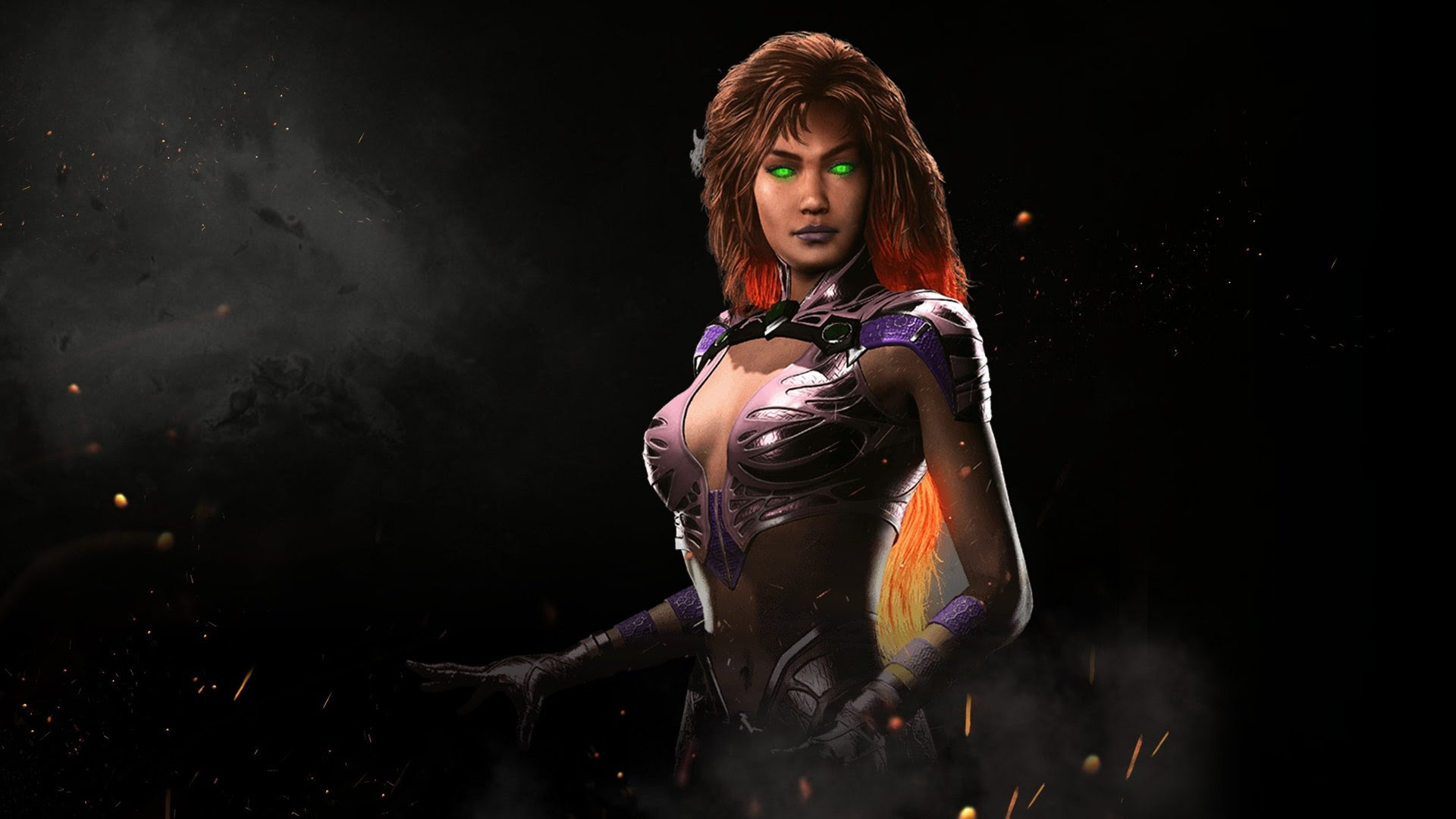 Starfire lights up the skies of Injustice 2 screenshot