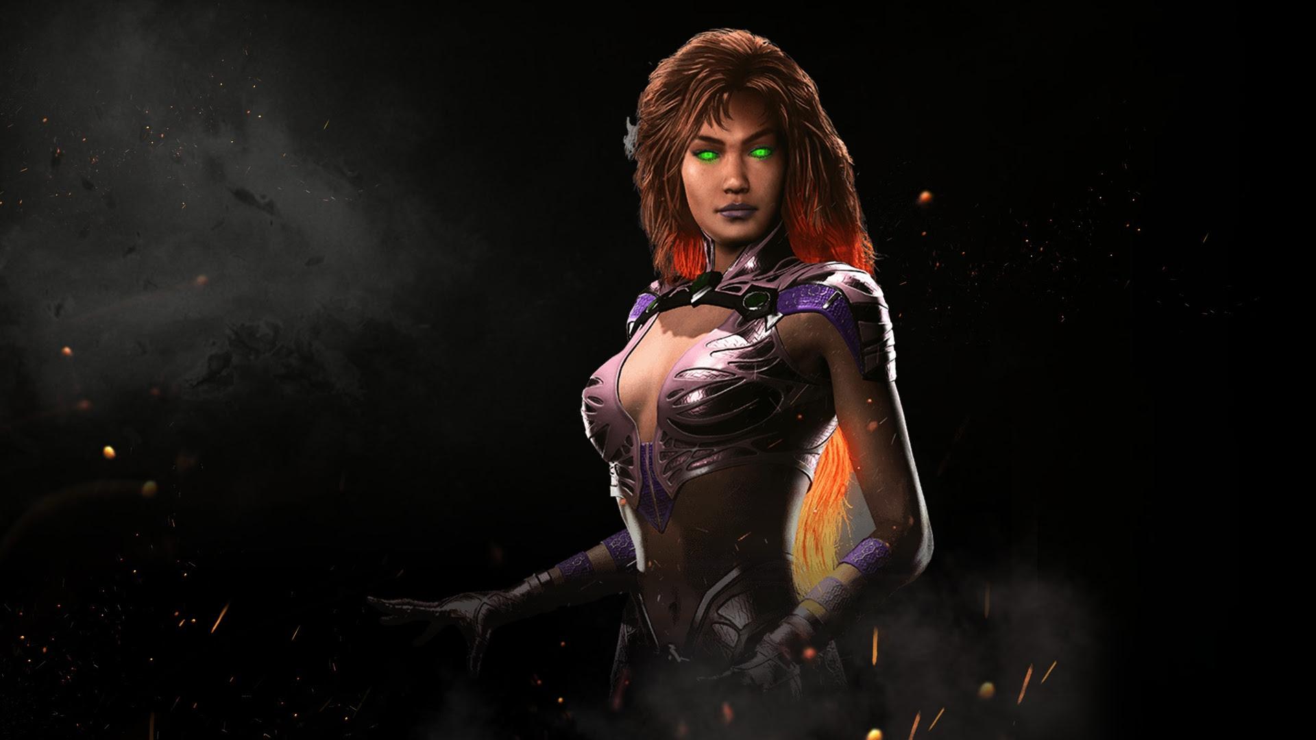Starfire lights up the skies of Injustice 2 screenshot