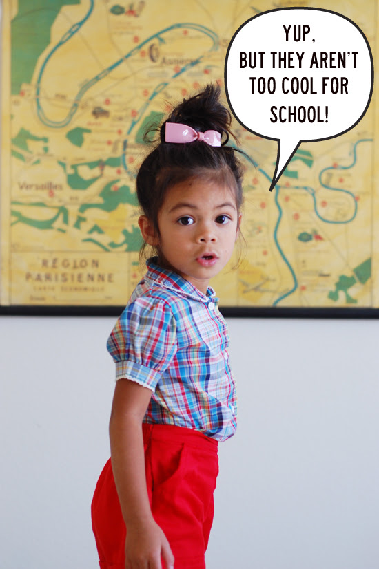 out to school: week three