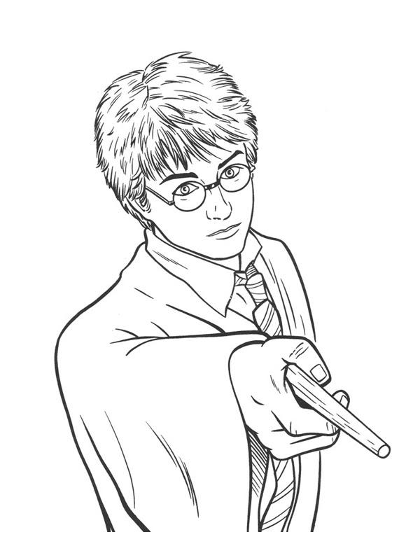 Dessin A Imprimer Harry Potter 7