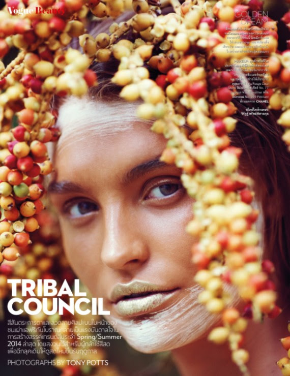 Roosmarijn de Kok for Numéro Thailand February 2014 - Tribal Council