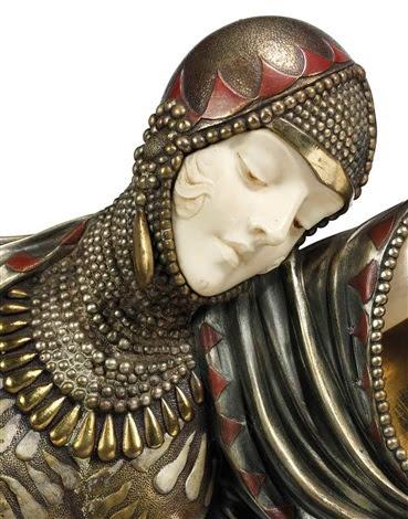 Thais A Rare Art Deco Figure By Demetre Chiparus On Artnet