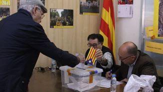 Votacions ANC, a Sants-Montjuïc (Foto:ACN)