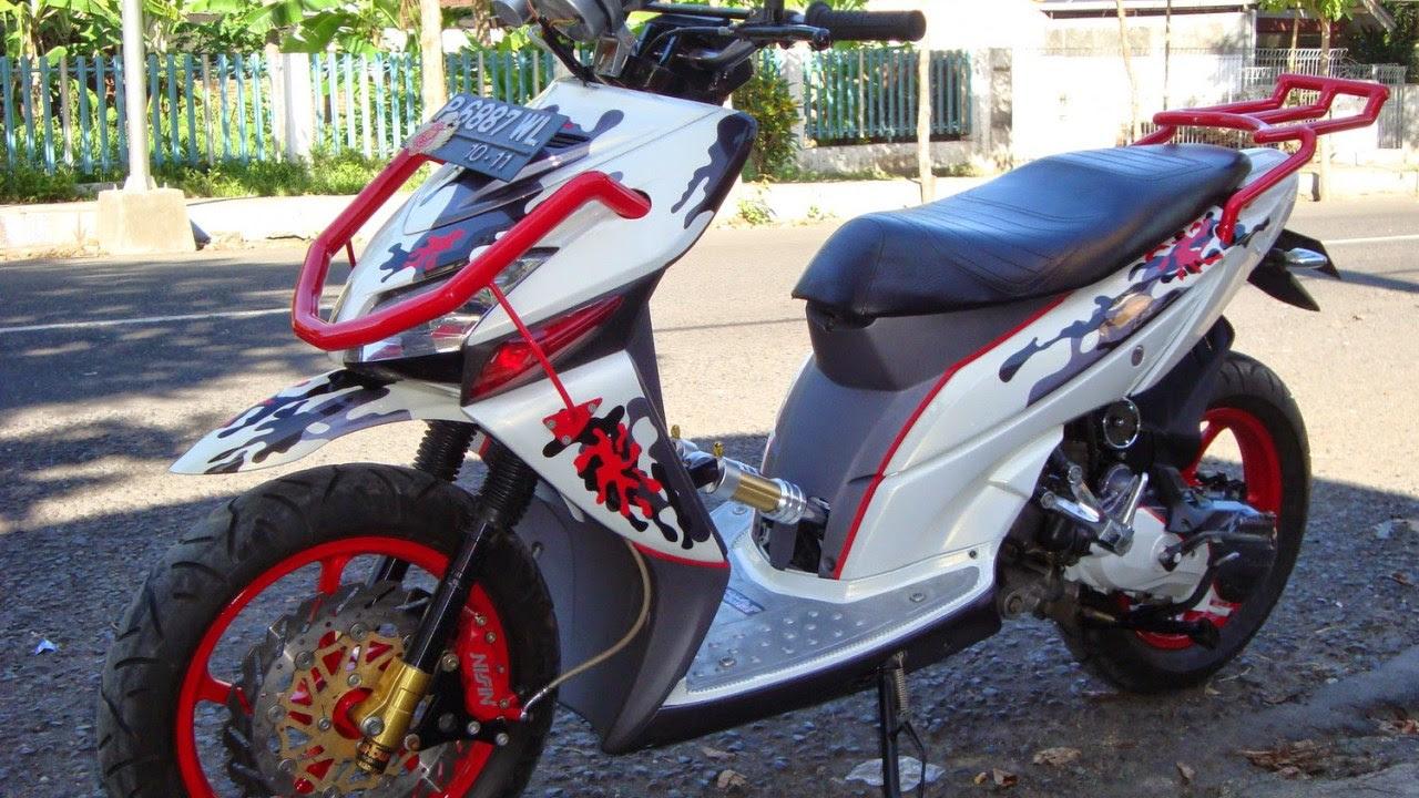 Kumpulan 82 Gambar Motor Honda Beat Modifikasi Warna Terbaru Dan