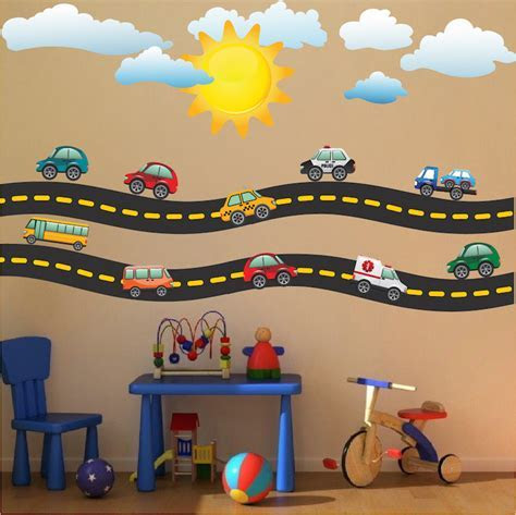 Race Car Decal   Sports Wall Decal Murals   Race Track