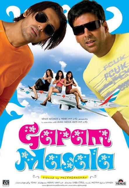 Garam Masala (2005) Hindi Movie 400MB DVDRip 480P ESubs ...