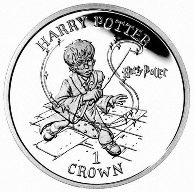 Bilderesultat for harry potter ona coin