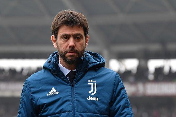 Breaking Juventus President Andrea Agnelli Travelling