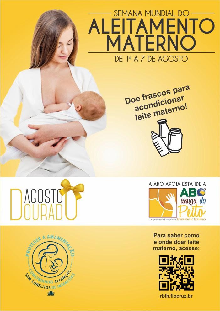 Semana Mundial de Aleitamento Materno