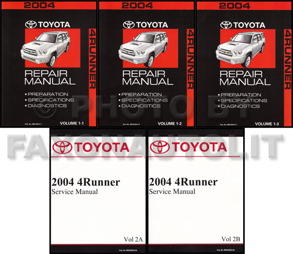 Diagram 2002 Toyota 4runner Service Shop Repair Manual Set Oem 2 Volume Set And The Wiring Diagrams Full Version Hd Quality Wiring Diagrams Hotwiring Weblula It