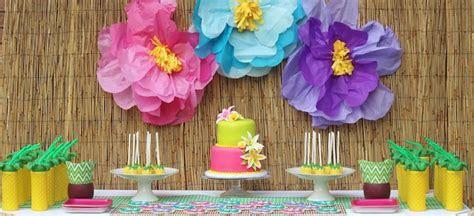 Kara's Party Ideas Hawaiian 2nd Birthday Party
