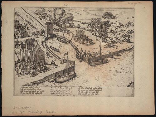 Niederlage des Martin Schenk bei Amerongen nahe Utrecht
