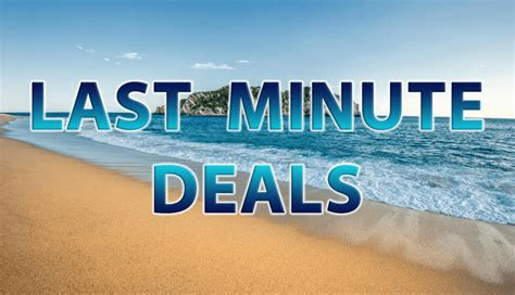 minute vacation deals traveloni vacations