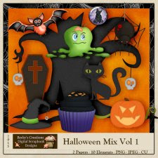 Halloween Mix Volume 1 by Beckys Creations