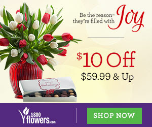 Support Breast Cancer Awareness Month at 1800flowers.com with our Pink Flower collection. - 300x250