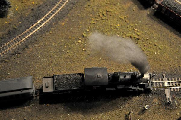Love that steam!