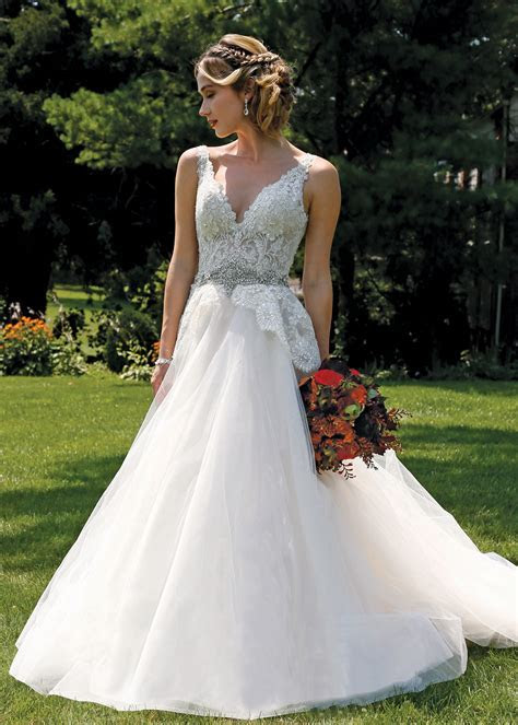 Ballgown Dress Bridal Wedding Gown by Eve of Milady   NY, NJ