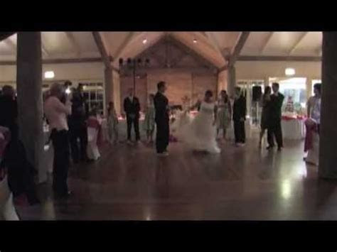 The Best Wedding Reception Entrance Dance Ever!   YouTube