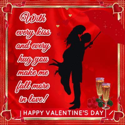 Every Kiss And Every Hug Valentine. Free I Love You eCards
