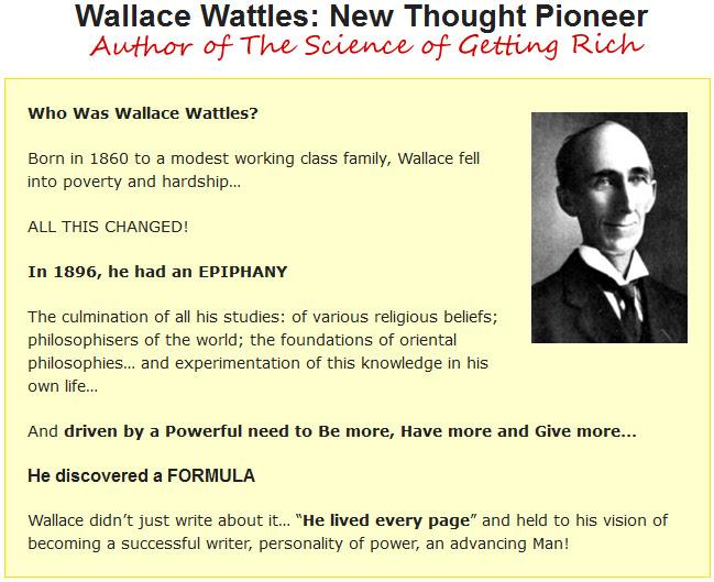 Wallace Wattles John Vincent