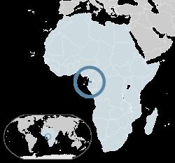 Vị trí của Guinea Xích Đạo