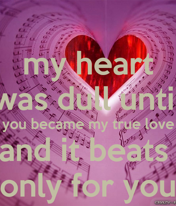 My Heart Beats Only For You Quotes Traffic Club