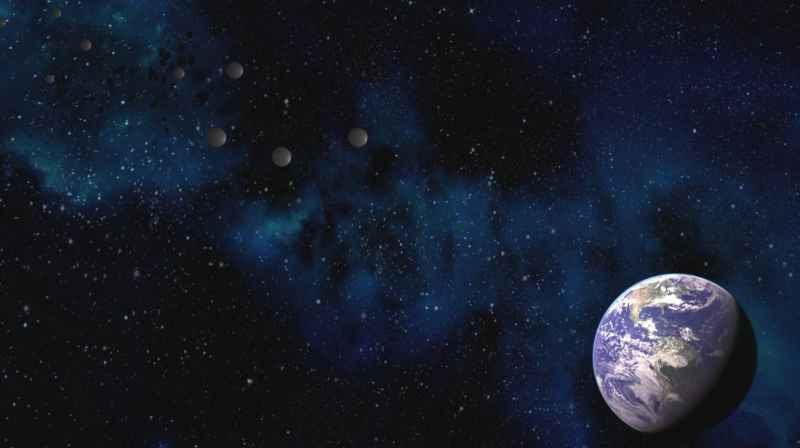 6 Earth And Metallic Spheres