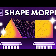 Cara Morph Antara Dua Shape di After Effects