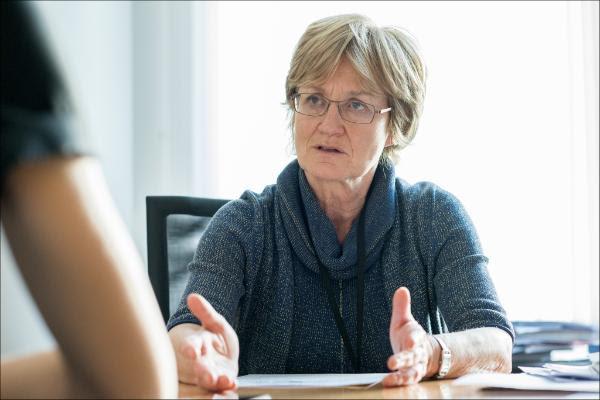 La eurodiputada socialista luxemburguesa Mady Delvaux.