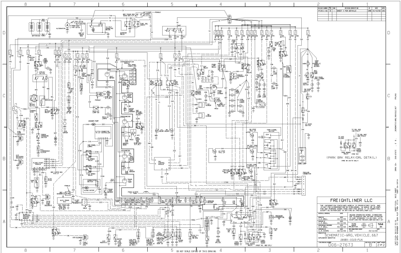 freightliner wiring schematic