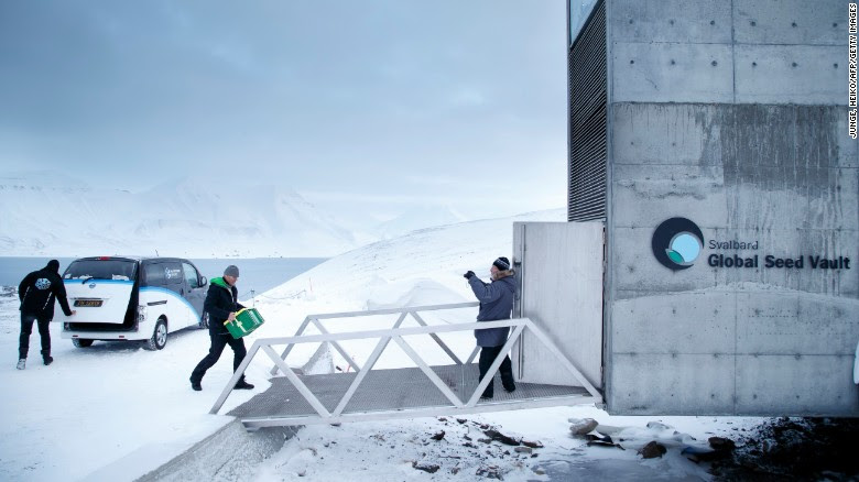 Arctic 'doomsday' vault seeks to protect world's most precious data